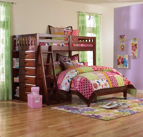Picture of Forrester Twin/Full Loft Bed