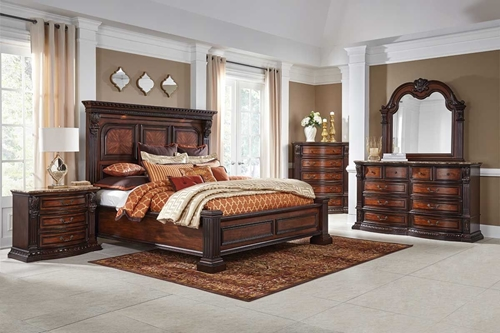 Picture of GRAND ESTATE 5 Pc Queen Bedroom Group