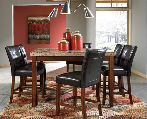 Picture of MONTE CARLO 5 PC COUNTER DINING SET