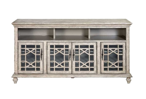 """Picture of AUDREY WHITE 72"""" TV CONSOLE"""