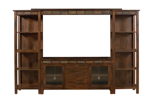 """Picture of Canyon Cove 4 Pc Media Center w/ 60"""" TV Console"""