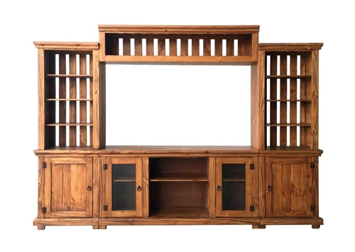 """Picture of CONWAY 4PC MEDIA CENTER W/60"""" CONSOLE"""