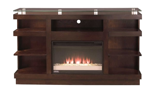 "Picture of NOVELLA 65"" TV CONSOLE W/ FIREPLACE"