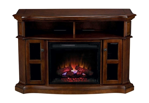 "Picture of Roxbury 54"" TV Console w/ Fireplace"