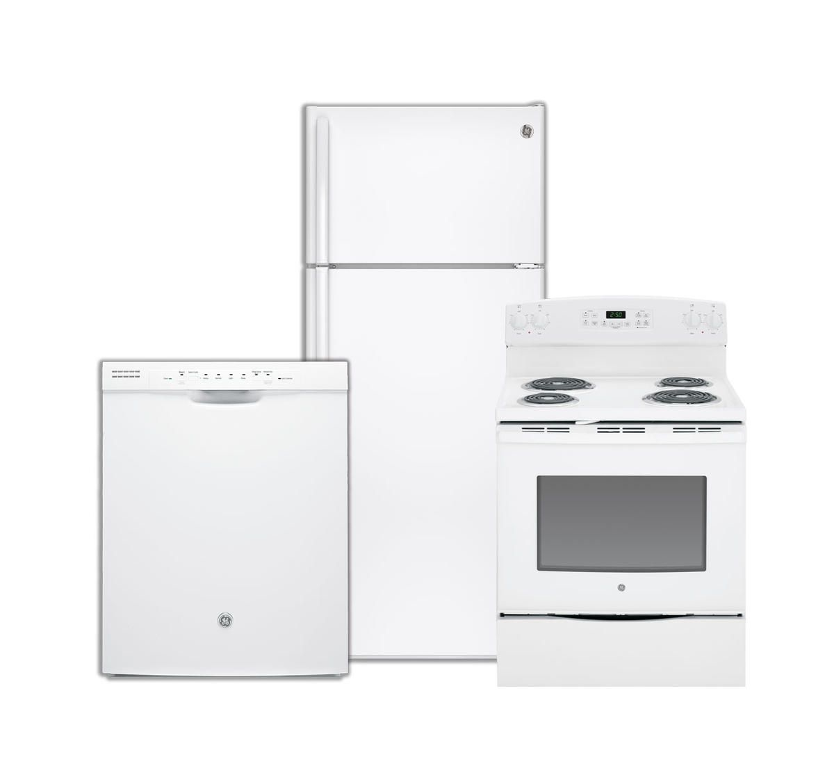 GE 3 Pc Appliance Package