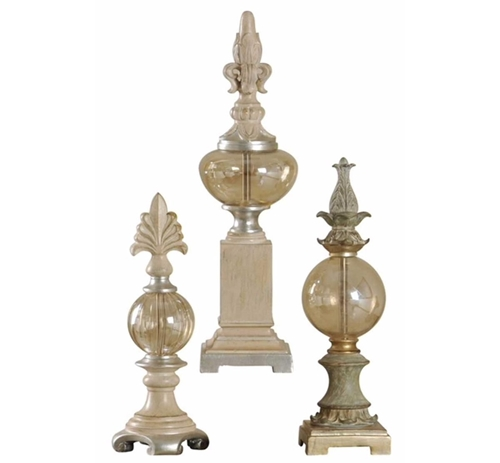 Picture of 3 PC SET  FINIALS