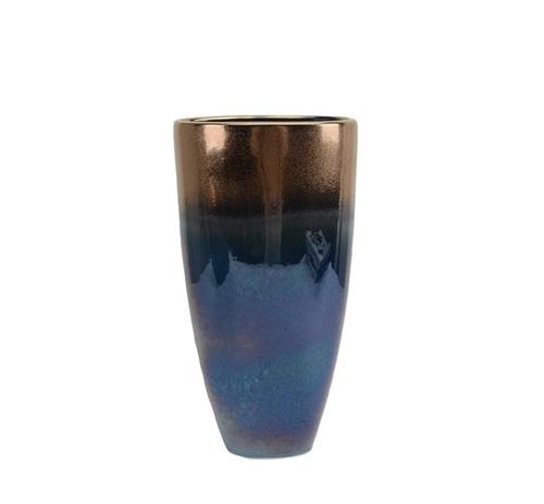 Picture of BLUE/COPPER VASE
