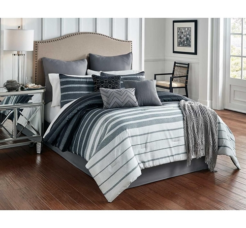 Picture of BRENNAN 10 PC QUEEN LINENS