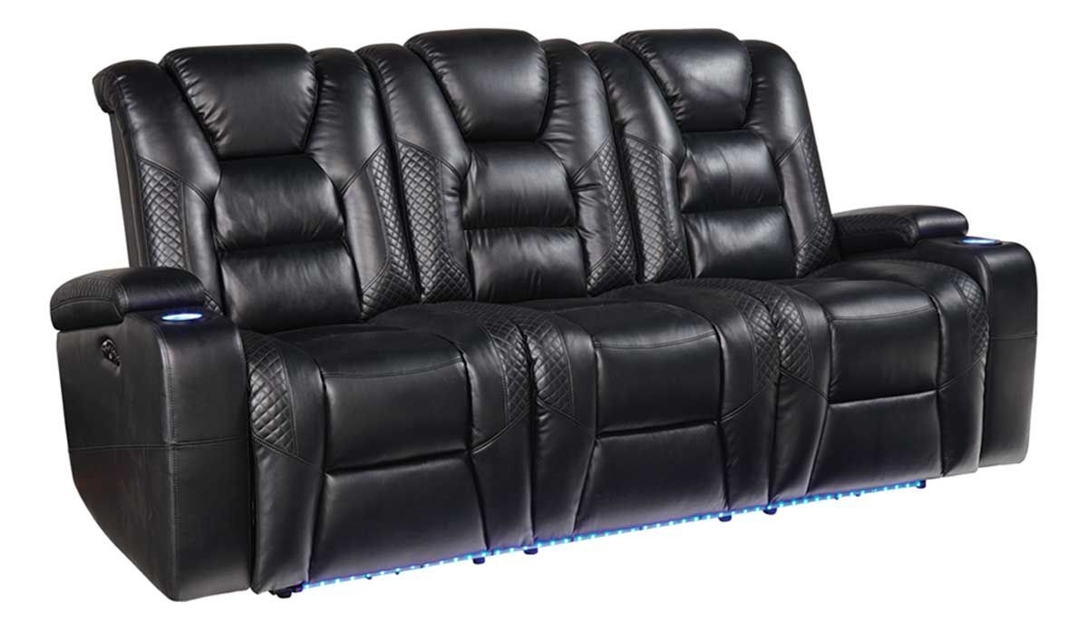 Daytona Dual Power Reclining Sofa Badcock Amp More