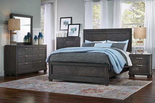 deacon 5 pc queen bedroom group - Badcock Furniture Bedroom Sets