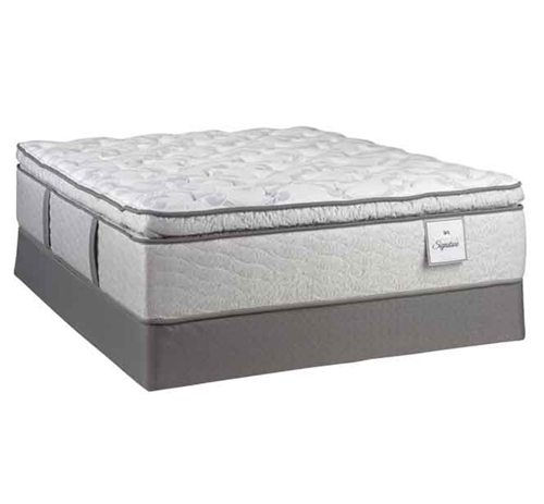 Picture of SERTA IMPERIAL SKY II QUEEN MATTRESS SET WITH FREE TV