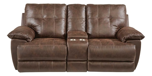 Picture of BADLANDS RECLINING CONSOLE LOVESEAT