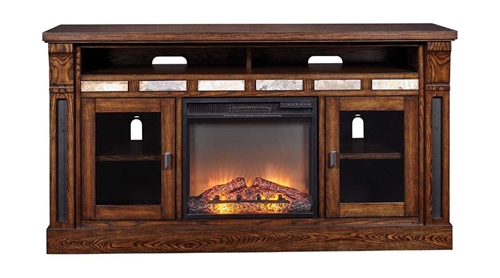 "Picture of FOXHALL 68"" TV CONSOLE W/FIREPLACE"