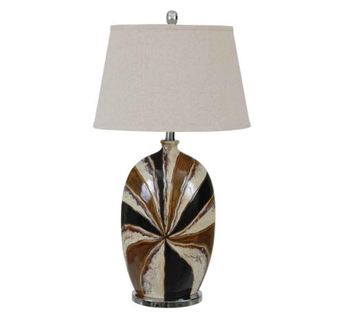 Picture of CASUAL CONTEMPORARY SUNBURST LAMP