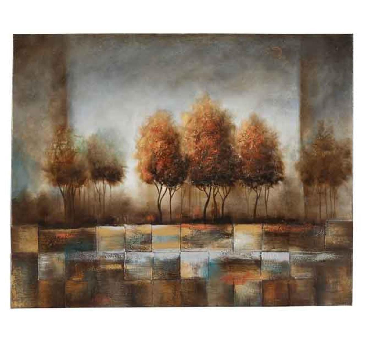 Tree Blocks Wall Art