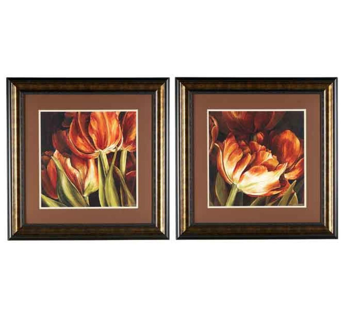 Picture of TULIPS WALL ART SET