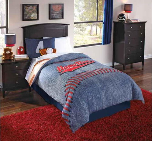 Picture of HOME RUN 6 PIECE FULL LINEN SET