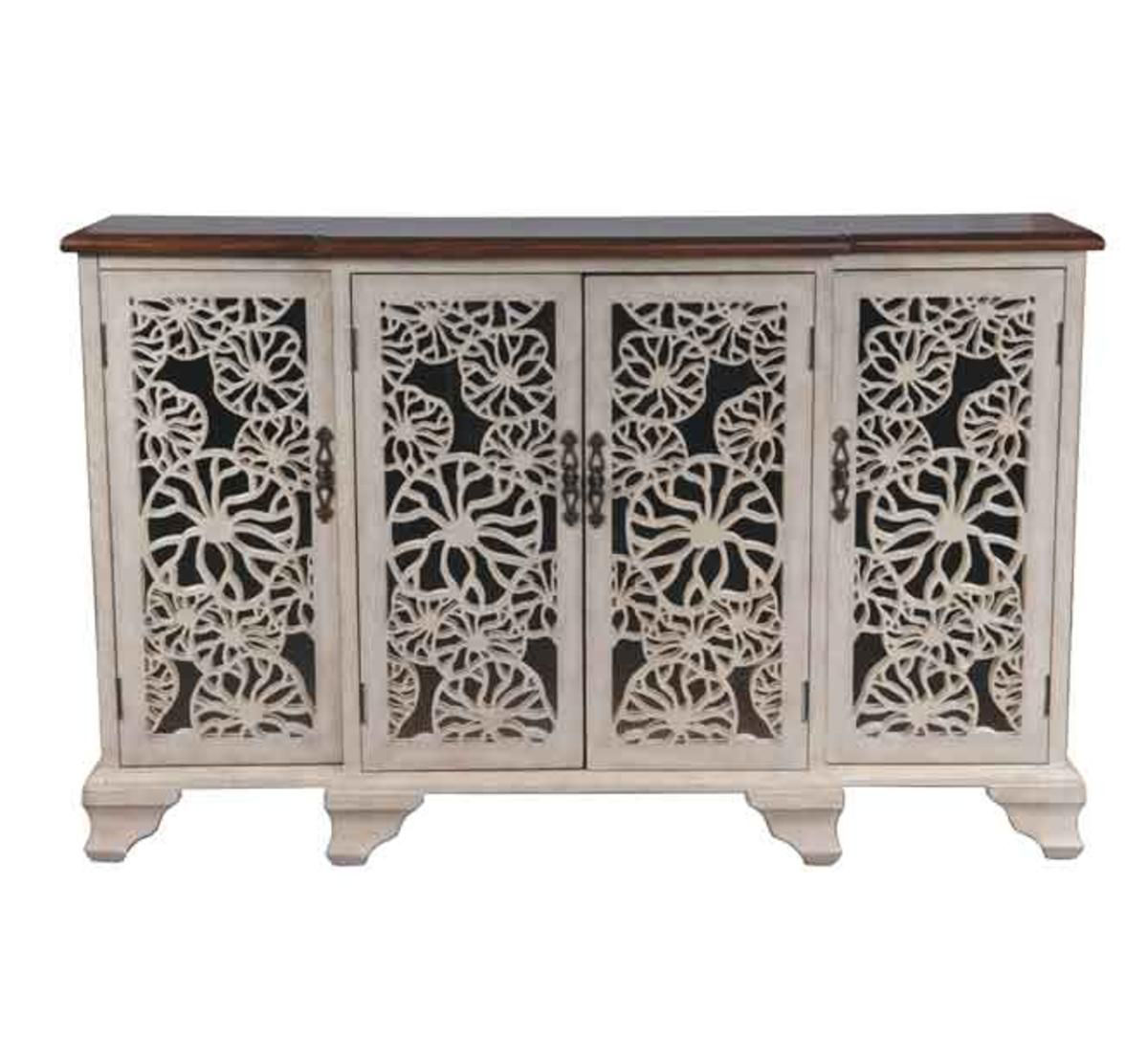 Picture of FLOWER ACCENT CABINET