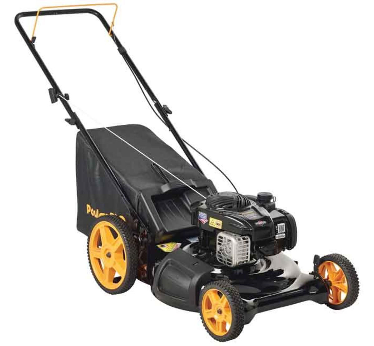 "Picture of POULAN 21"" HIGH-WHEEL PUSH MOWER"
