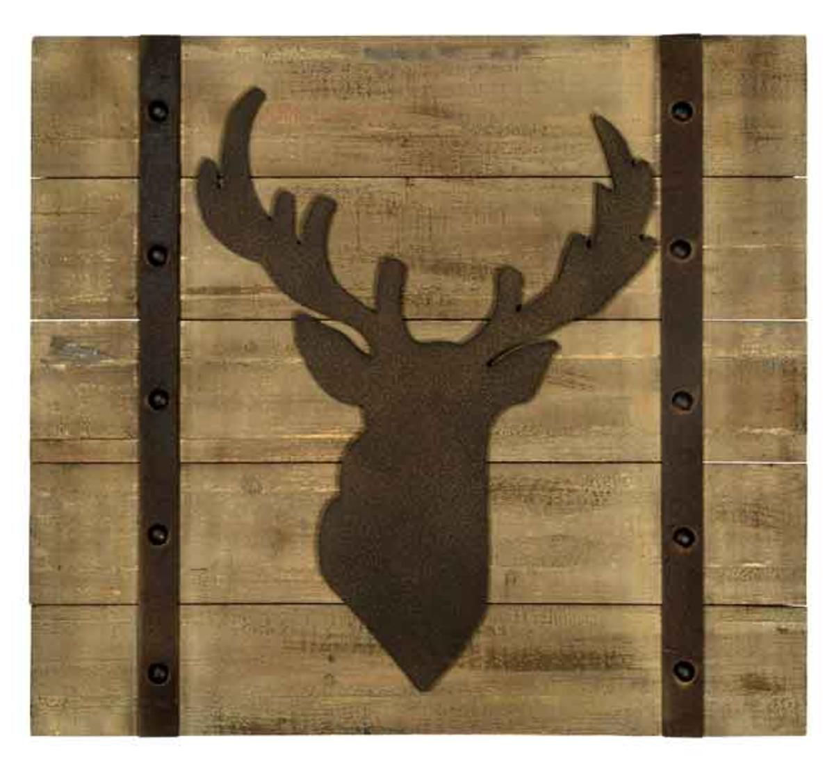 Picture of DEER HEAD WALL ART