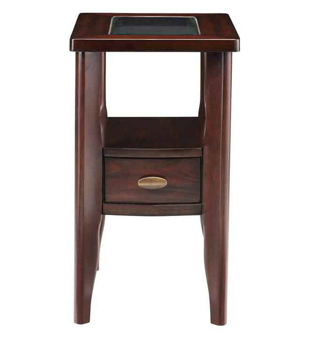 Picture of GEMINI CHAIRSIDE TABLE