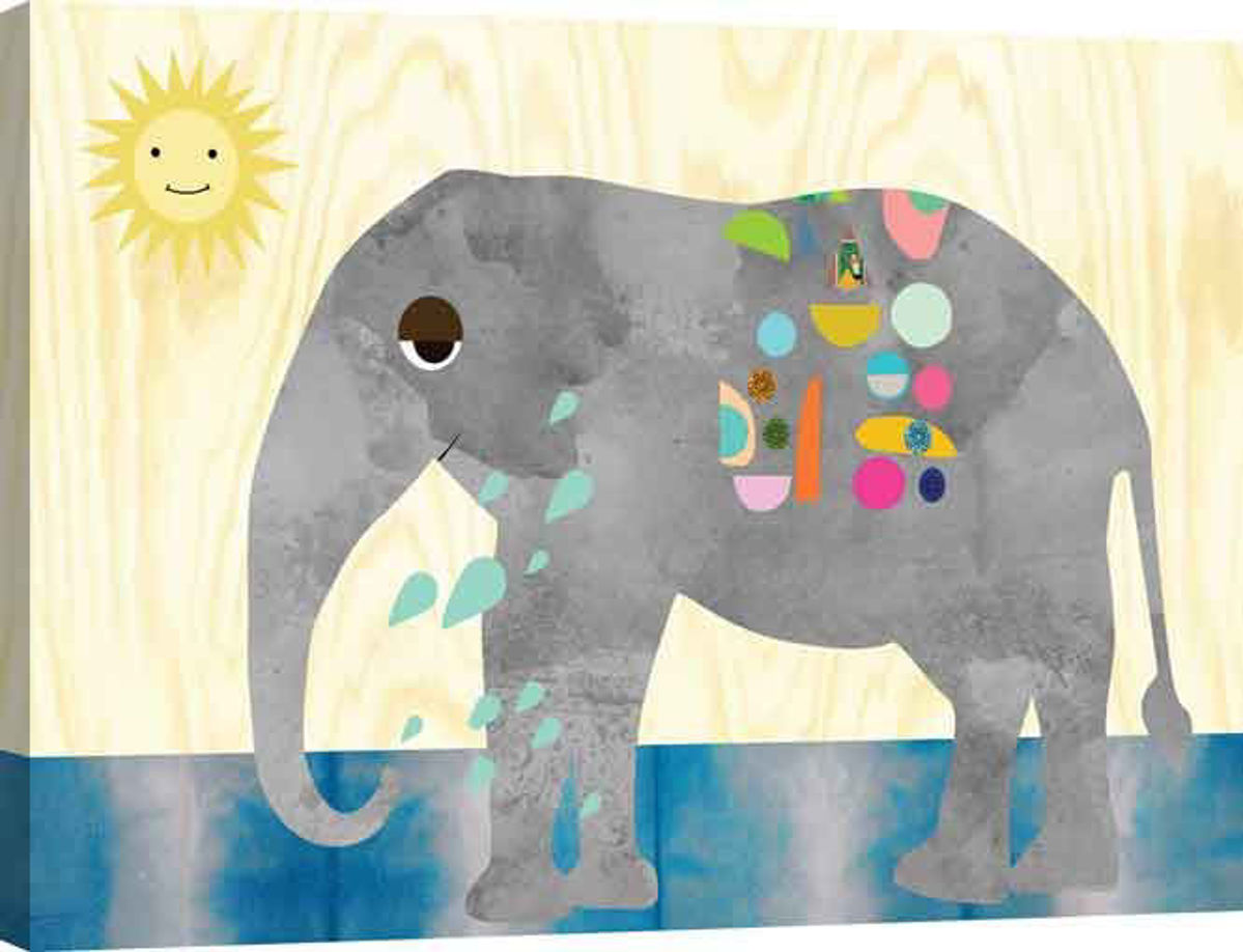 Picture of ELEPHANT WALL ART