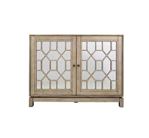 Picture of BLONDE ACCENT CABINET