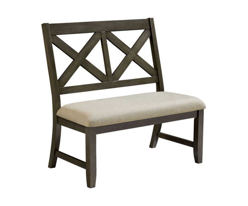 Picture of DALLAS GREY DINING BENCH