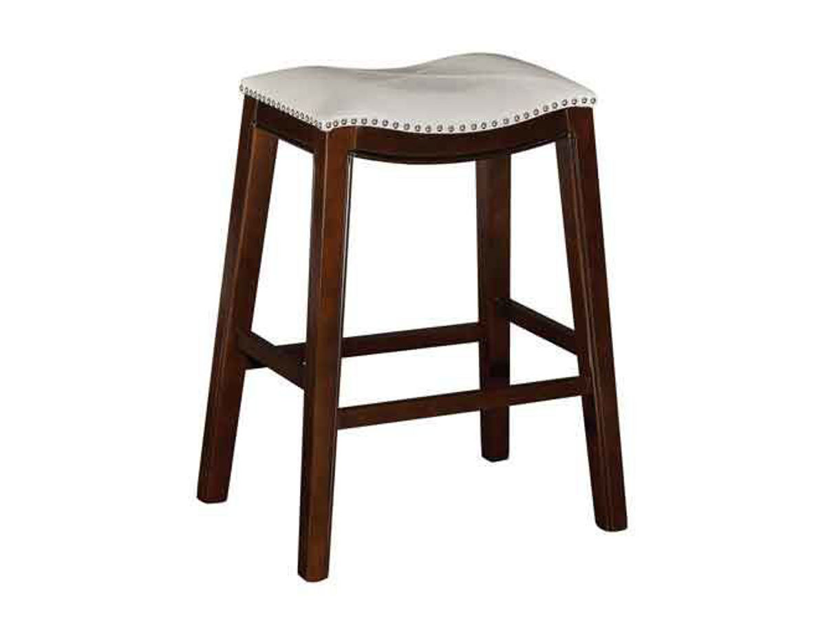 Awesome Saddle Creek Cream Barstool Gmtry Best Dining Table And Chair Ideas Images Gmtryco