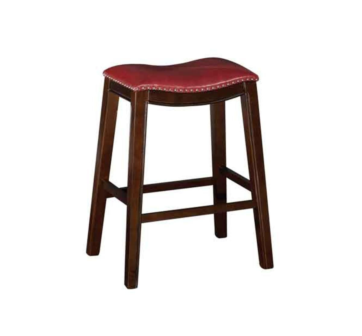Cool Saddle Creek Red Barstool Gmtry Best Dining Table And Chair Ideas Images Gmtryco