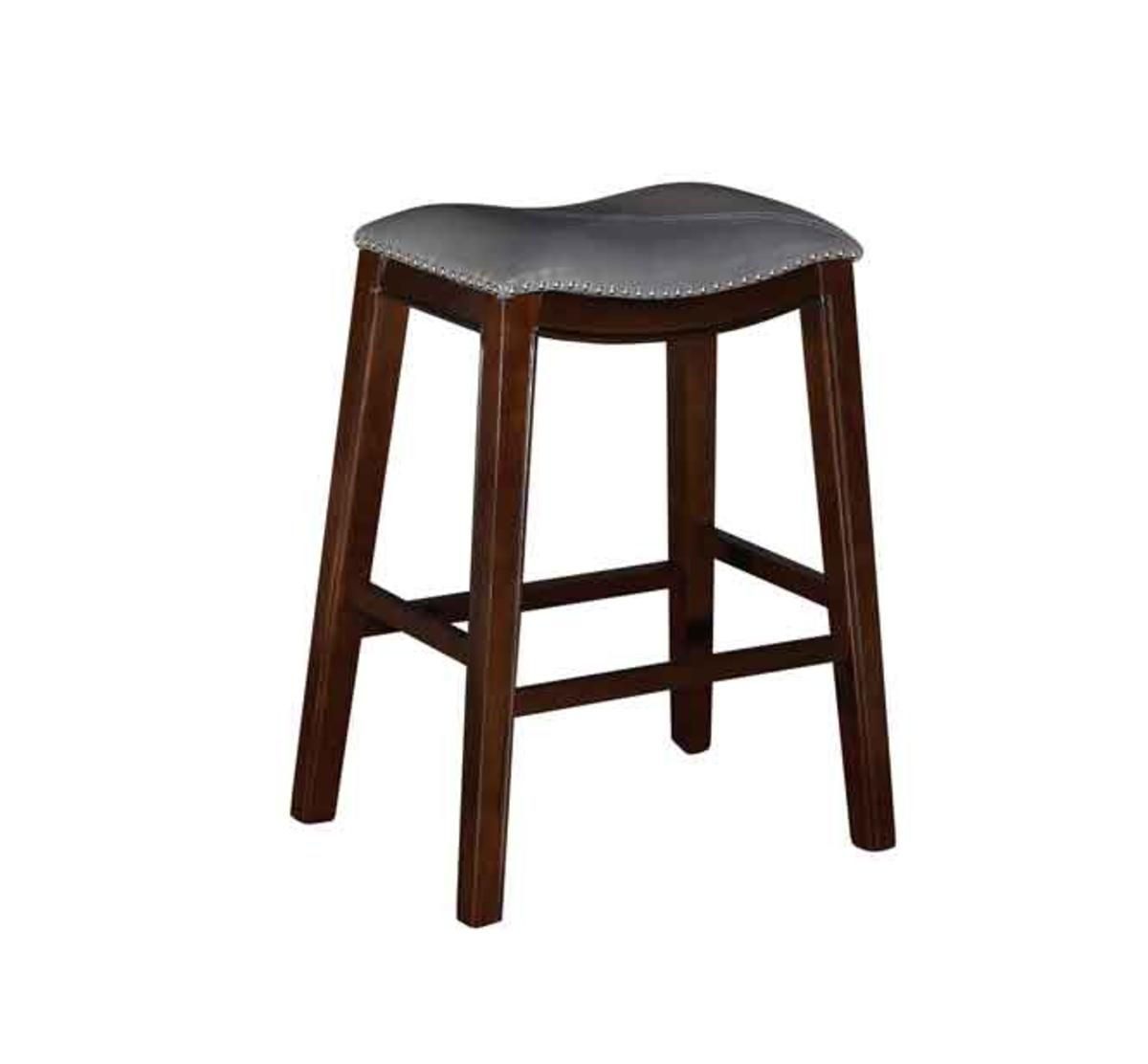 Super Saddle Creek Grey Barstool Gmtry Best Dining Table And Chair Ideas Images Gmtryco