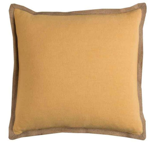 Picture of GOLD JUTE ACCENT PILLOW