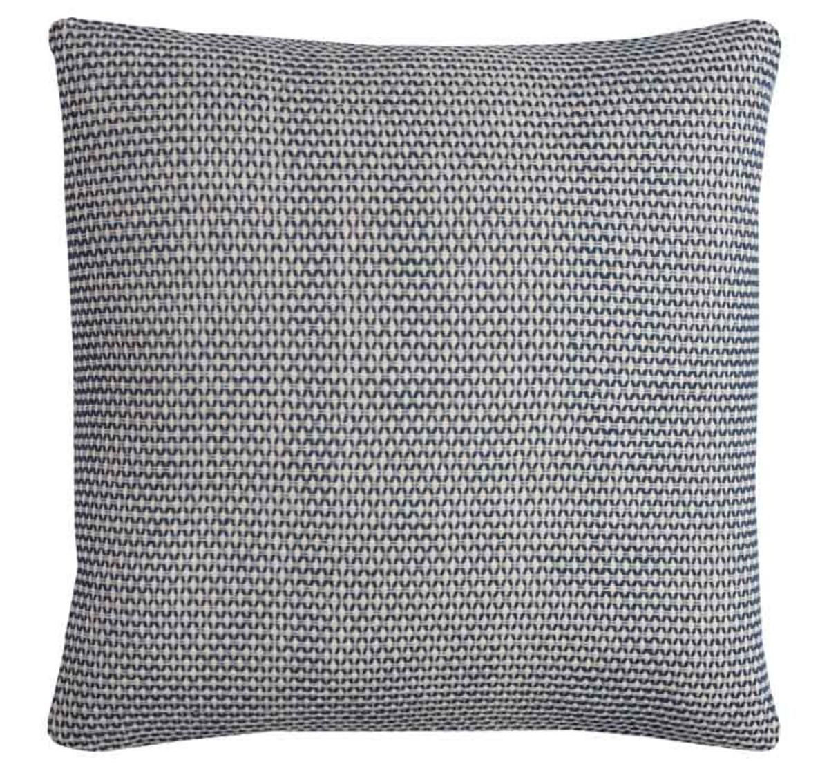 Picture of BLUE/WHITE ACCENT PILLOW