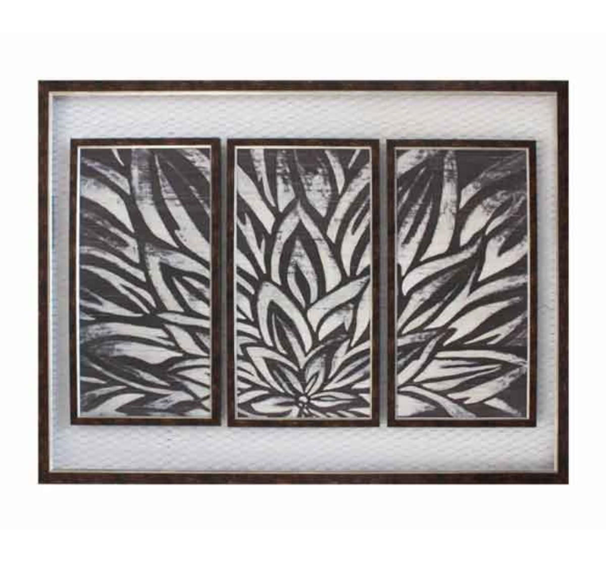 Picture of FRAMED BLOSSOMS WALL ART