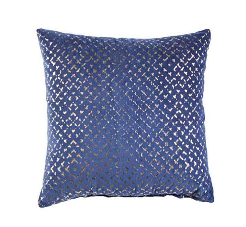 Picture of GOLD/NAVY ACCENT PILLOW