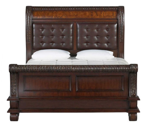 Picture of Sophia Queen Sleigh Bed