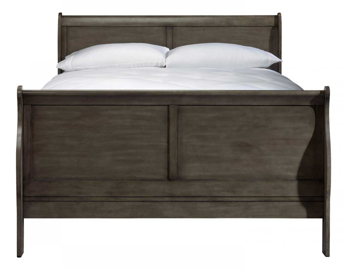 Picture of LEWISTON GREY QUEEN SLEIGH BED