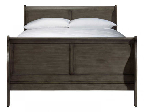 Picture of LEWISTON GREY KING SLEIGH BED