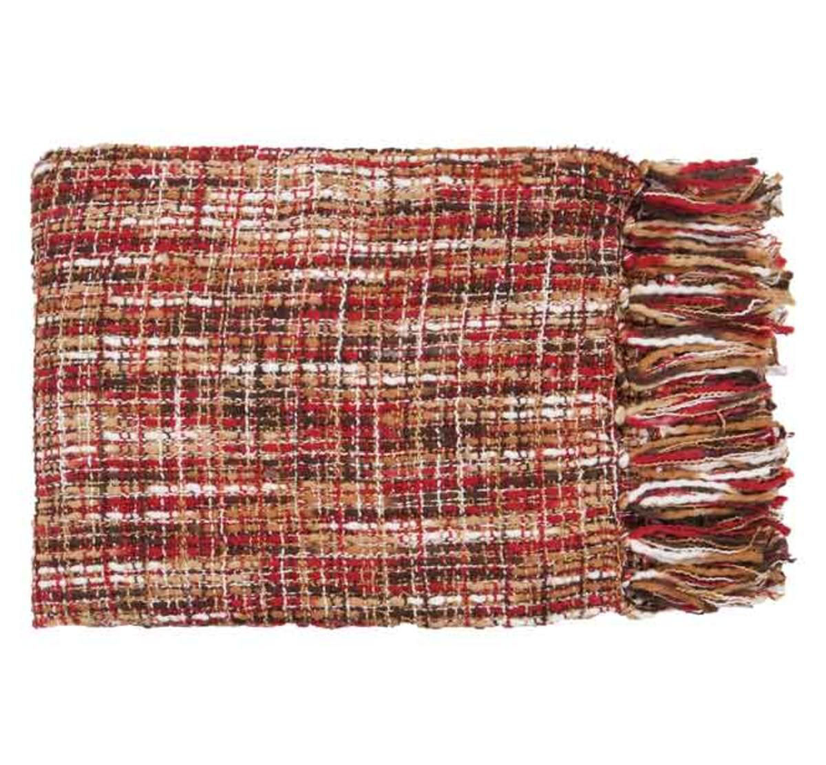 Picture of RED THROW BLANKET