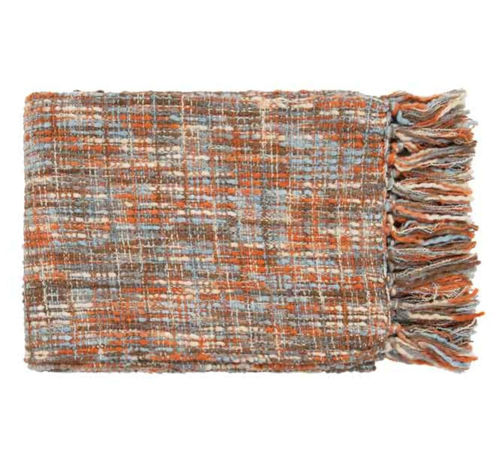 Picture of ORANGE THROW BLANKET
