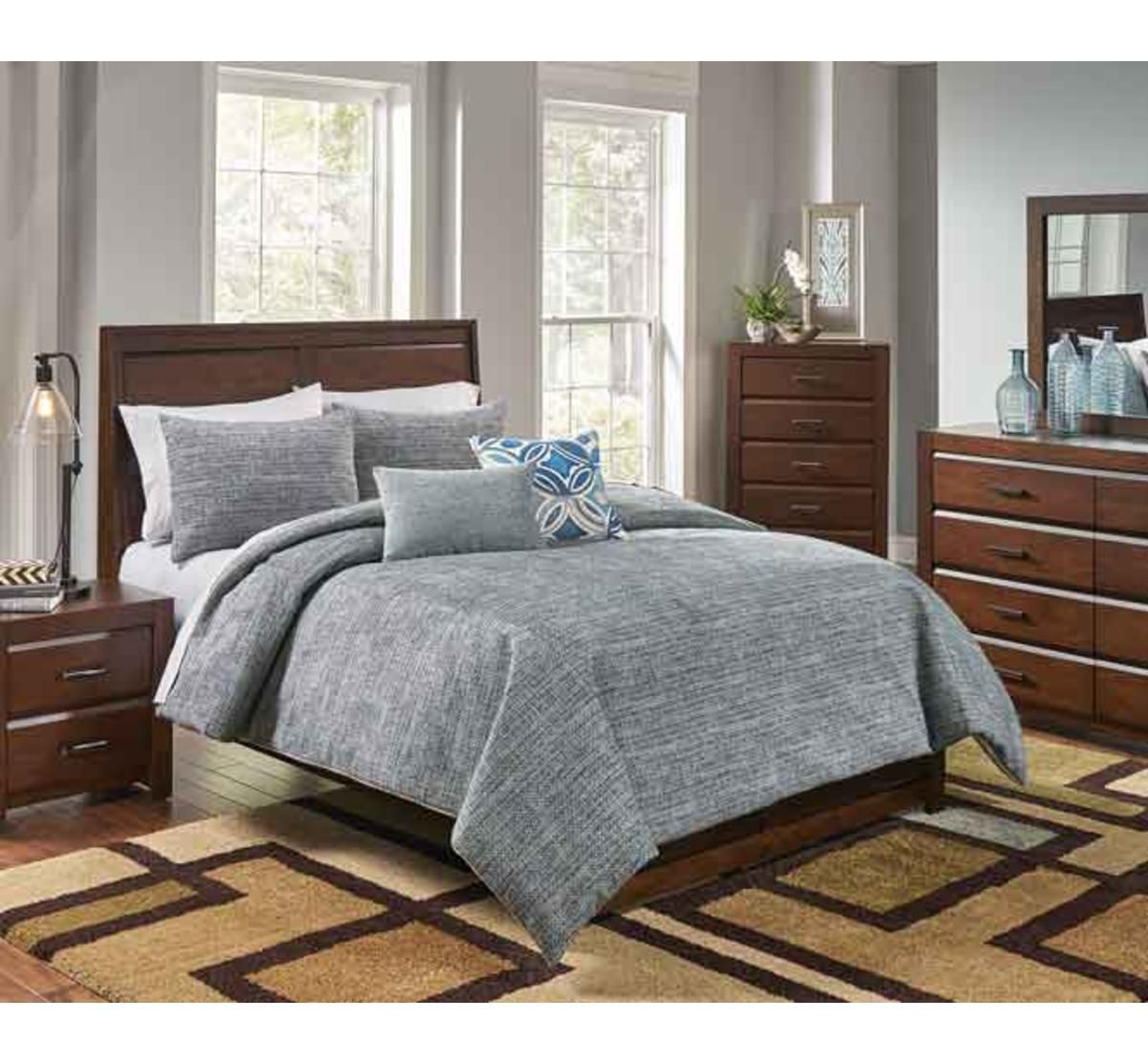 Picture of FRONIN 6 PIECE QUEEN LINEN SET