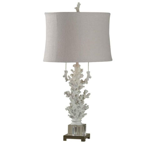 Picture of CONTEMPORARY CARVED CORAL LAMP