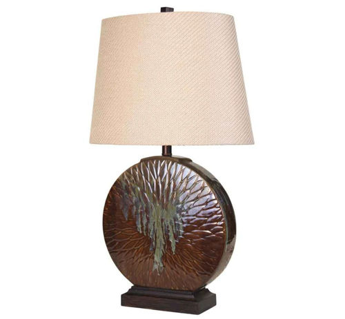 Picture of CASUAL LOTUS LAMP