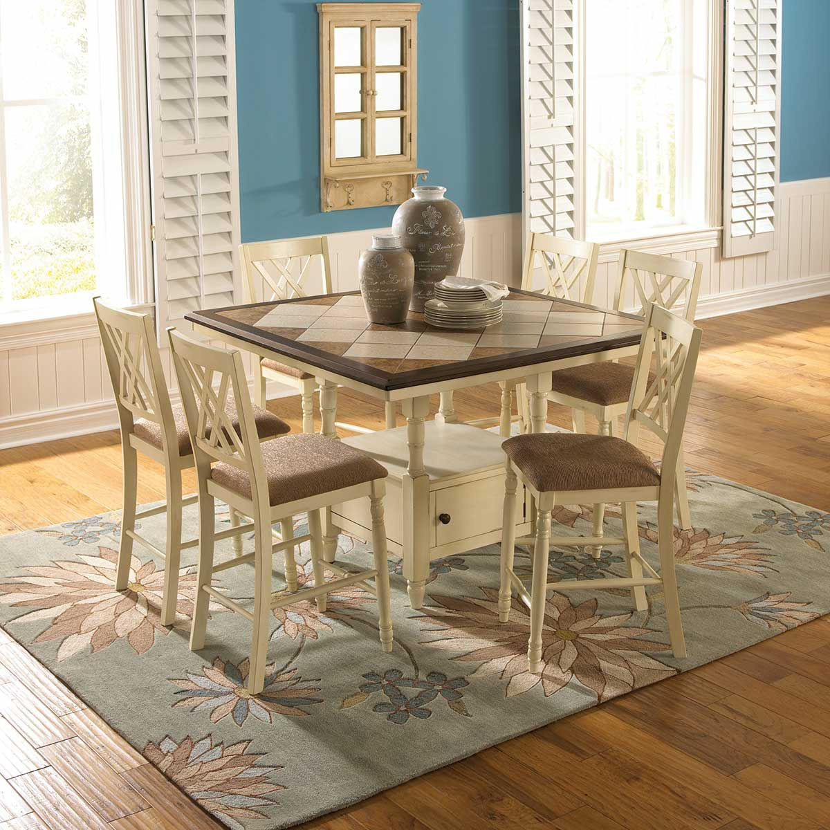 Picture of ASHLEIGH 5 PIECE DINING SET
