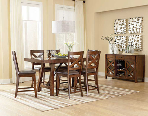 Picture of DALLAS 5 PIECE COUNTER DINING SET