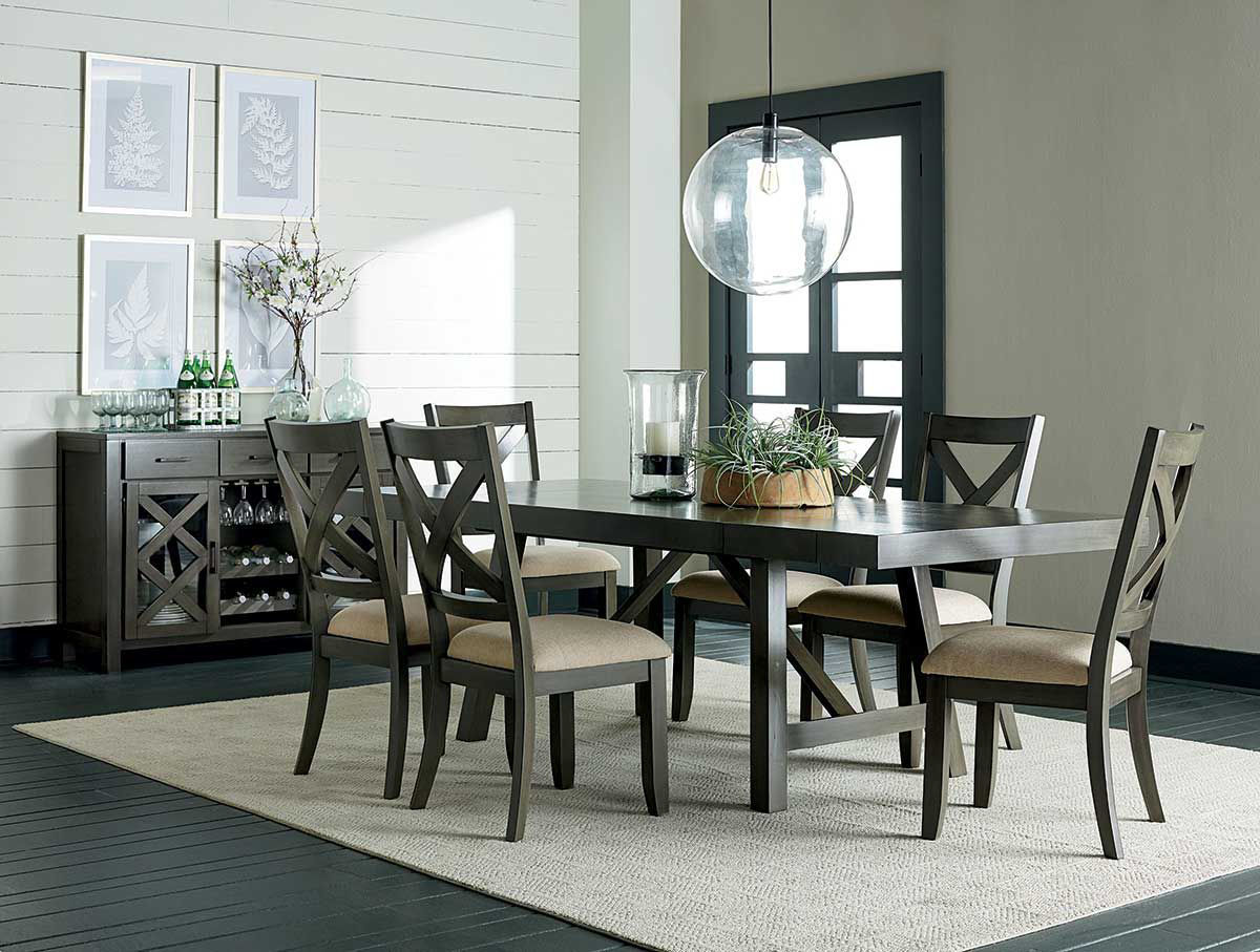 Picture of DALLAS GREY 5 PIECE DINING SET