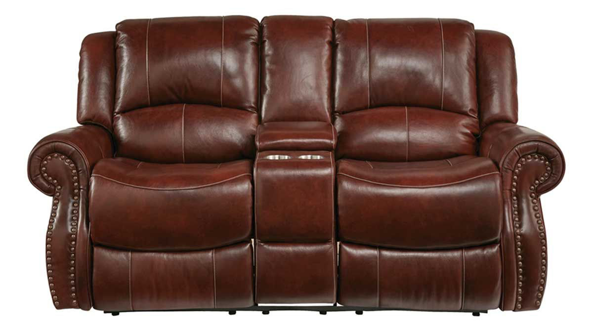 Picture of PENDLETON RECLINING CONSOLE LOVESEAT
