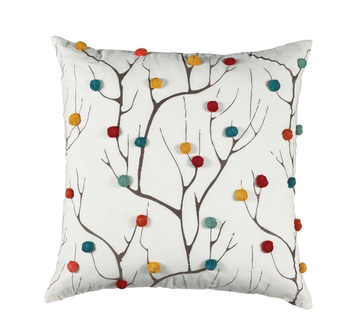 Picture of WHITE ACCENT PILLOW