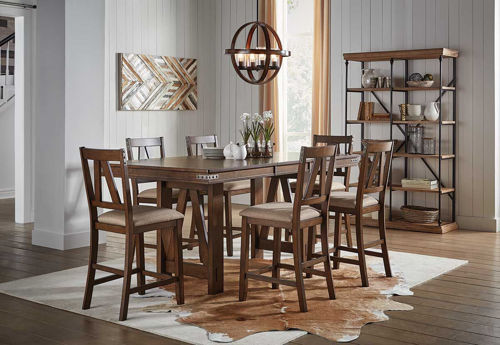 Picture of TRESTLEWOOD 5 PIECE COUNTER DINING SET