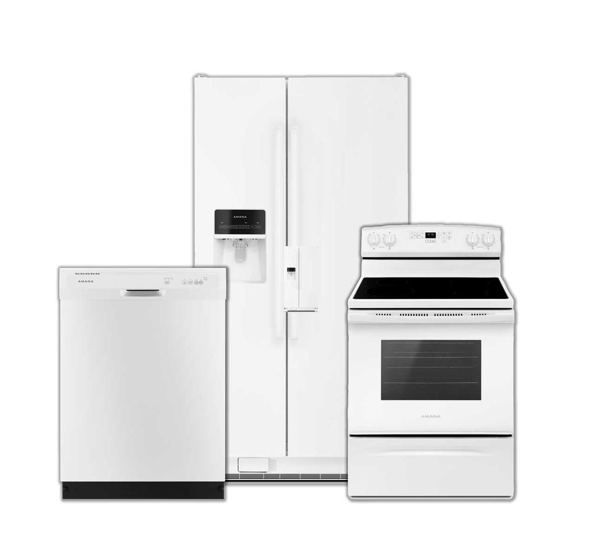 Picture of AMANA 3 PIECE WHITE APPLIANCE PACKAGE